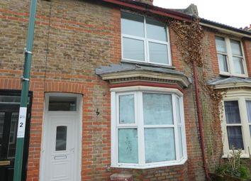 Thumbnail 3 bed terraced house to rent in Southover Road, Bognor Regis