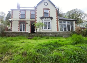 Thumbnail 3 bedroom detached house for sale in Uplands Road, Pontardawe, Swansea.