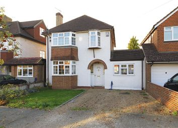Thumbnail 4 bed detached house to rent in Monks Avenue, West Molesey