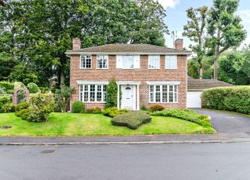 Thumbnail 5 bed detached house for sale in Amberwood Drive, Camberley
