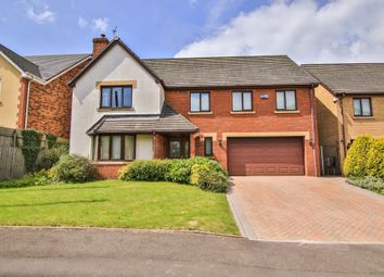 Thumbnail 5 bed detached house for sale in Blacksmiths Way, Coedkernew, Newport