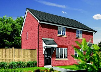 Thumbnail 2 bed semi-detached house for sale in Almond Brook Road, Standish, Wigan