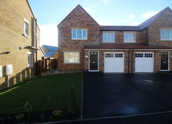 Thumbnail 3 bed semi-detached house to rent in Chilton Close, Newton Aycliffe