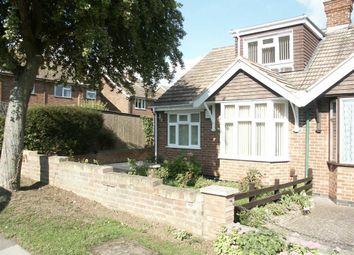 Thumbnail 3 bed semi-detached bungalow for sale in Mendip Road, Northampton