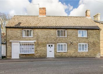 Thumbnail 4 bedroom detached house for sale in High Street, Fowlmere, Cambridge