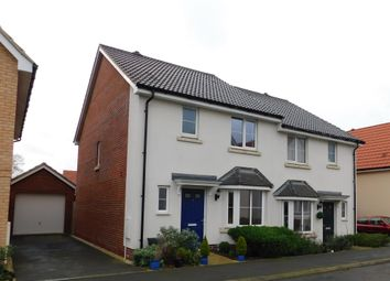 3 bed semi-detached house for sale in House Martin Way, Stowmarket IP14