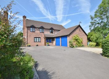 Thumbnail 4 bed detached house for sale in Lea, Ross-On-Wye