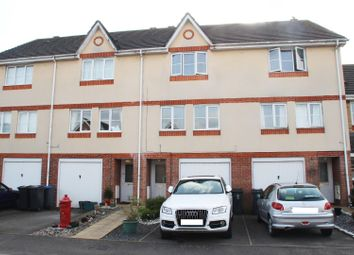 Thumbnail 3 bedroom town house for sale in Padley Close, Chessington