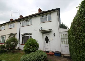 Thumbnail 3 bed end terrace house for sale in Stangate Crescent, Borehamwood, Hertfordshire
