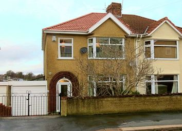 Thumbnail 3 bed semi-detached house for sale in Wingfield Road, Knowle, Bristol
