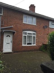 Thumbnail 3 bedroom terraced house to rent in Scarborough Road, Walsall, West Midlands