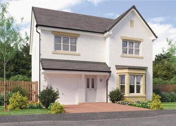 "Thumbnail 4 bed detached house for sale in ""Dale Det"" at Caulderhame Road, Currie"