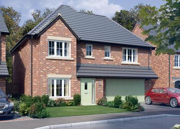 "Thumbnail 4 bed detached house for sale in ""The Westbury"" at Malt Mill Close, Kilsby, Rugby"