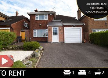 Thumbnail 4 bed detached house to rent in Asquith Boulevard, Leicester