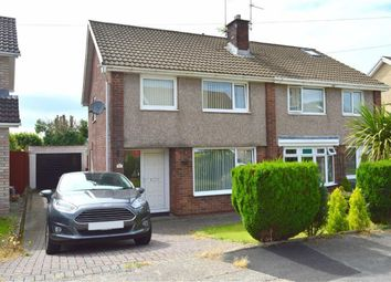 Thumbnail 3 bed semi-detached house for sale in Cyncoed Close, Dunvant, Swansea
