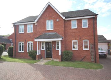 Thumbnail 4 bed detached house for sale in Barons Close, Kirby Muxloe, Leicester