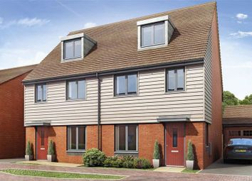 Thumbnail 3 bed town house for sale in 91, Synders Way, Lawley, Telford