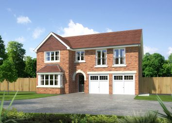 """Thumbnail 5 bedroom detached house for sale in """"Melton"""" at Palladian Gardens, Hooton Road, Hooton, Wirral"""