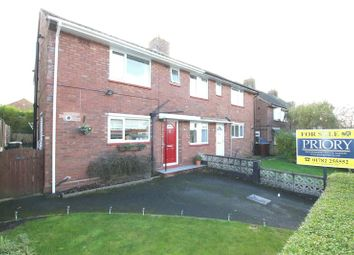 Thumbnail 3 bed semi-detached house for sale in Warwick Street, Biddulph, Stoke-On-Trent