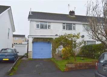Thumbnail 4 bed semi-detached house for sale in Sherringham Drive, Newton, Swansea
