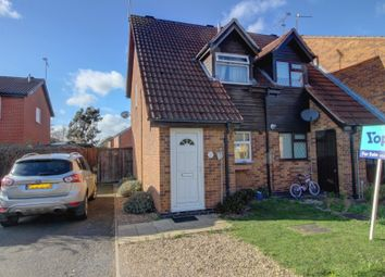 Thumbnail 2 bed end terrace house for sale in Boulton Close, Broughton Astley, Leicester