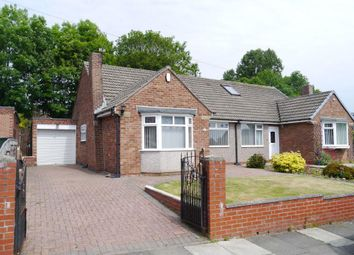 Thumbnail 2 bed semi-detached bungalow for sale in Deceptively Spacious Semi Detached Bungalow Woodlands, Throckley, Newcastle Upon Tyne