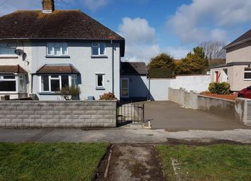 Thumbnail 3 bed semi-detached house for sale in Castle Road, Rhoose, Barry, Vale Of Glamorgan