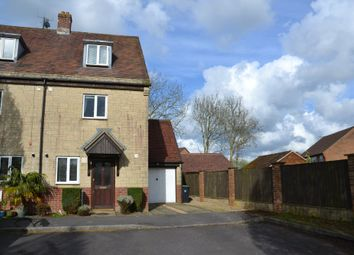 Thumbnail 3 bed town house for sale in Christys Gardens, Christys Lane, Shaftesbury