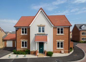 Thumbnail 4 bed detached house for sale in Hutton Close, Hilperton, Trowbridge