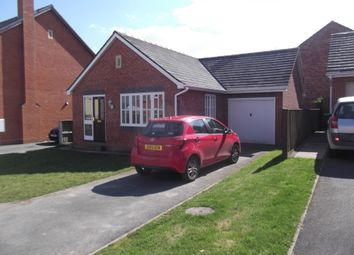 Thumbnail 2 bed bungalow to rent in Swallows Meadow, Castle Caereinion, Welshpool
