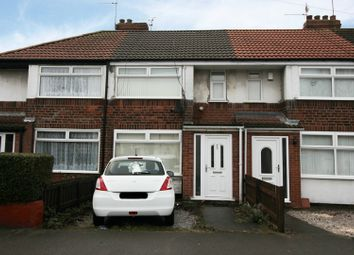 Thumbnail 3 bed terraced house for sale in Welwyn Park Drive, Hull, North Humberside