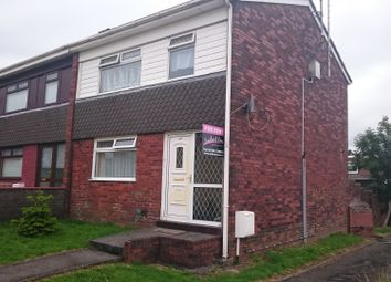 Thumbnail 3 bed semi-detached house to rent in Maes Tir, Llanelli
