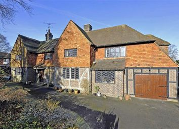 Thumbnail 5 bed detached house for sale in Snowdenham Links Road, Bramley, Surrey