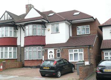 Thumbnail 4 bed flat to rent in Draycott Avenue, Kenton, Harrow