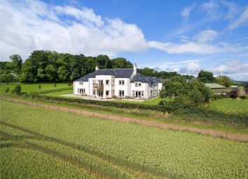 Thumbnail 7 bed detached house for sale in Barlogan House, Lauder, Berwickshire