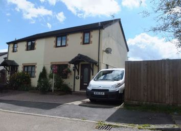 Thumbnail 3 bed semi-detached house for sale in Pearse Close, Hatherleigh, Okehampton
