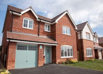 Thumbnail 4 bedroom detached house for sale in The Glyn, Holmes Chapel Road, Congleton, Cheshire