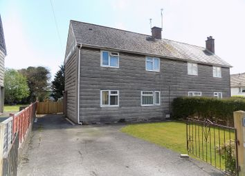 Thumbnail 3 bed semi-detached house for sale in Heol Tysant, Litchard, Bridgend.