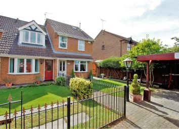 Thumbnail 4 bedroom end terrace house for sale in Rochester Court, Bourne