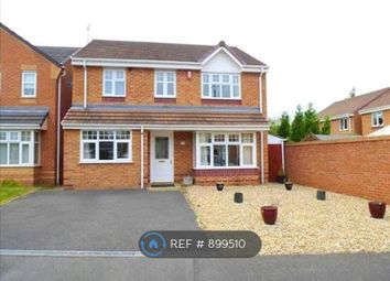 Thumbnail 4 bed detached house to rent in Yoxall Drive, Derby