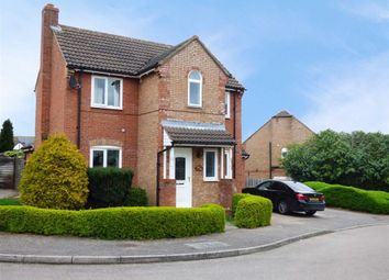 Thumbnail 3 bed detached house for sale in Hillary Close, Daventry