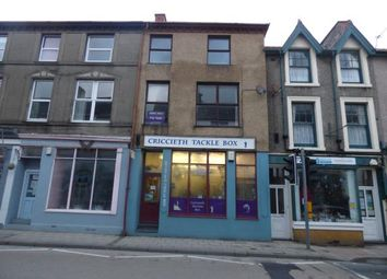 Thumbnail 2 bed flat for sale in High Street, Criccieth, Gwtnedd