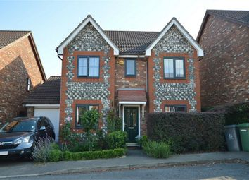 Thumbnail 4 bed detached house for sale in Bunyan Close, Dussindale, Thorpe St Andrew, Norwich, Norfolk