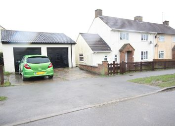 3 bed semi-detached house for sale in Baker Crescent, Irchester, Wellingborough, Northamptonshire. NN29