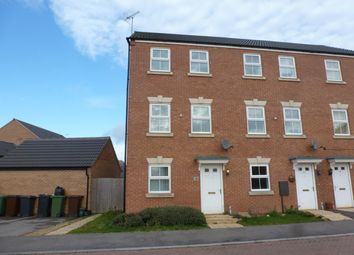 Thumbnail 3 bed town house to rent in Jackdaw Road, Corby