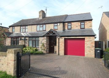 Thumbnail 4 bedroom semi-detached house for sale in Ely Road, Little Downham, Ely