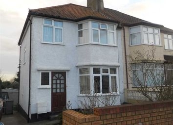 Thumbnail 3 bed semi-detached house to rent in Wakemans Hill Avenue, Kingsbury, Kingsbury