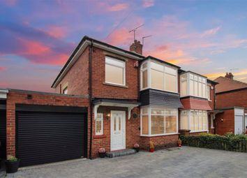 Thumbnail 3 bed semi-detached house for sale in Keswick Drive, North Shields