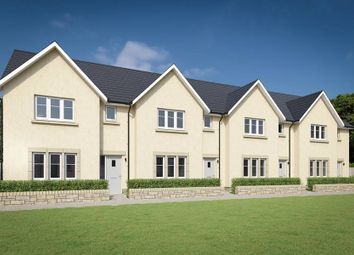 "Thumbnail 3 bed terraced house for sale in ""The Avon"" at Willow Park Drive, Penicuik"
