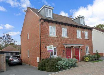 Thumbnail 3 bed semi-detached house for sale in Wells Croft, Broadbridge Heath, Horsham, West Sussex